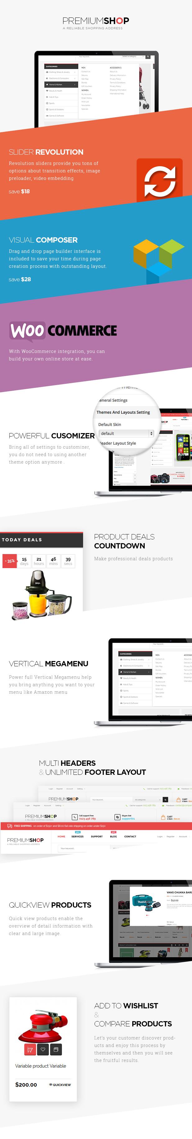 Premiumo - WooCommerce Shopping Theme