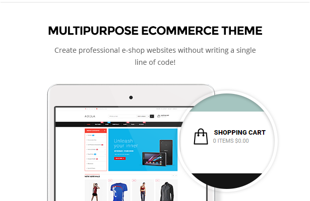 ecommerce pages