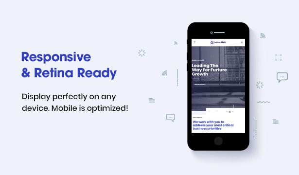 Consultek Responsive Design- Consulting Business WordPress Theme