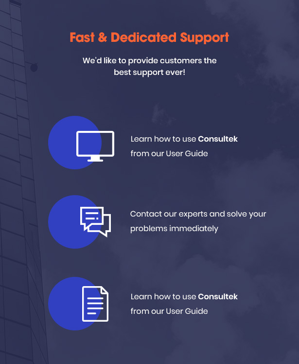 Consultek Best Support- Consulting Business WordPress Theme