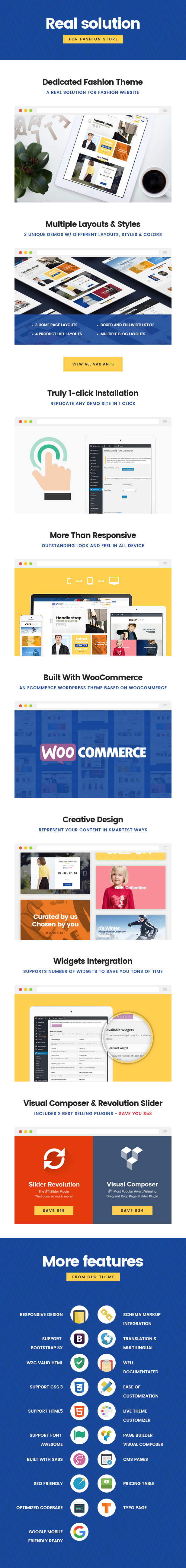 Woocommerce wordpress theme for fashion