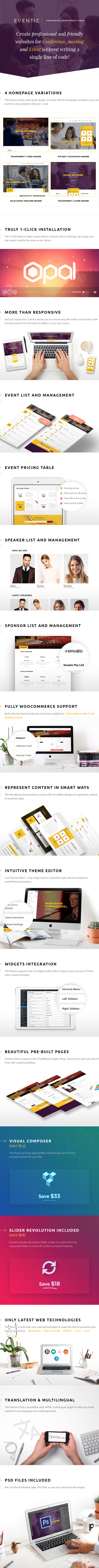 responsive wordpress theme for conference and event