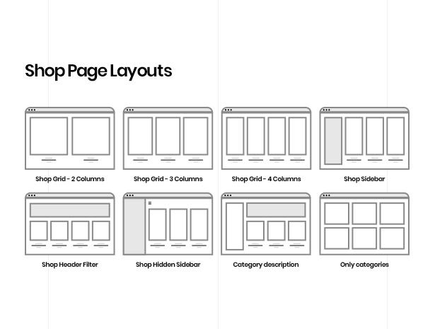 fashion wordpress theme product page layout