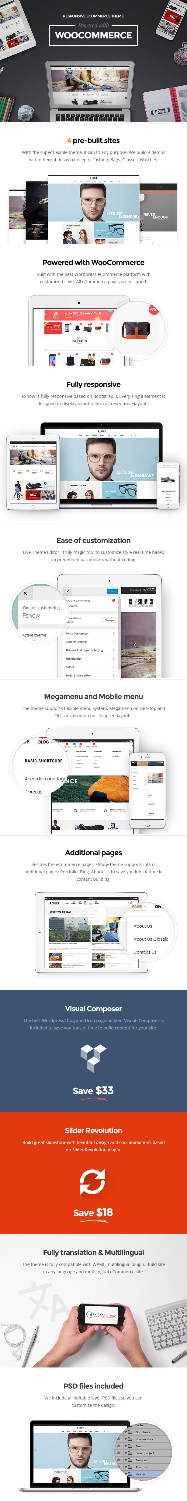 multipurpose responsive ecommerce wordpress theme