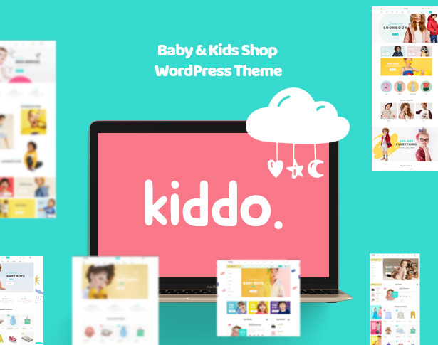 Kiddo Baby store & Kid Fashion WooCommerce WordPress Theme
