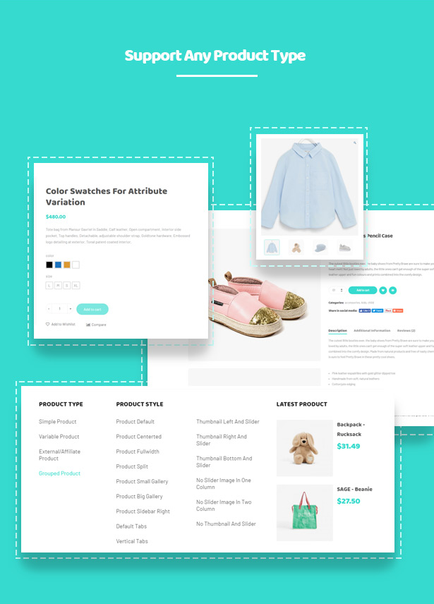 Kiddo Baby & Kids Fashion WordPress Theme - Support Selling any Product Types