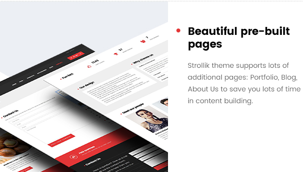 Strollik - Single Product WooCommerce WordPress Theme
