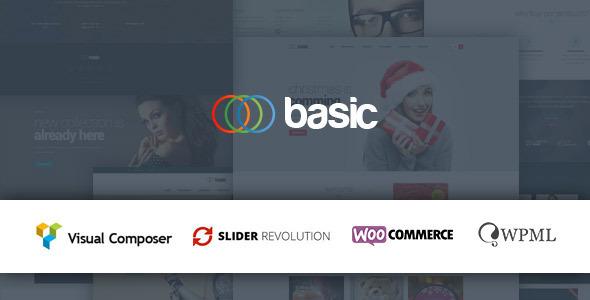 Basic Multipurpose WooCommerce Theme