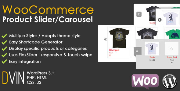 woocommerce product slider