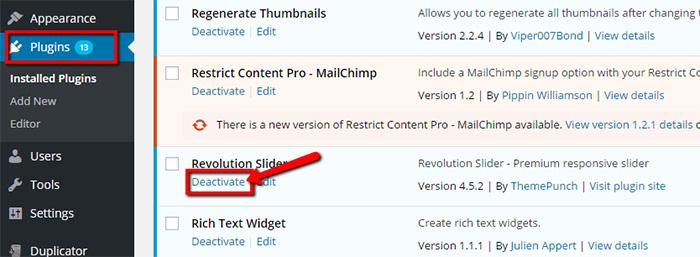 How to update Revolution Slider version 5 0 5 - WpOpal Blog