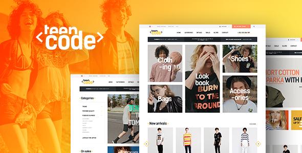 teencode wordpress theme