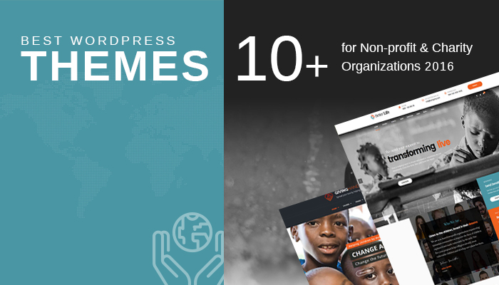 10+ Best WordPress Themes for Non-profit & Charity Organizations 2016