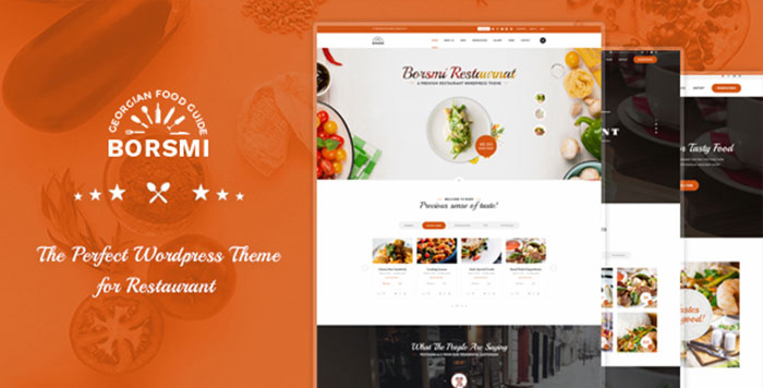 Borsmi _ Pro Restaurant WordPress Theme