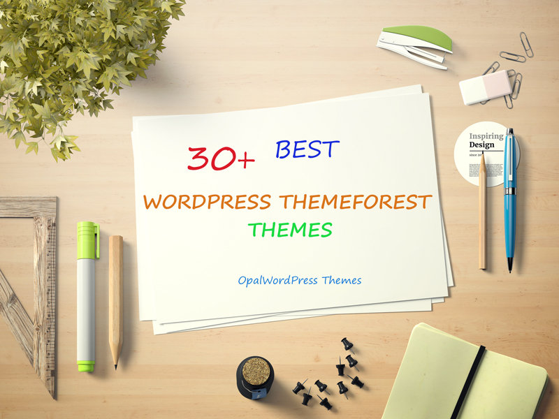 best wordpress themeforest themes