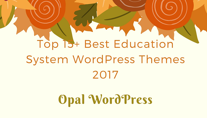 top 15+ best education system wordpress themes 2017