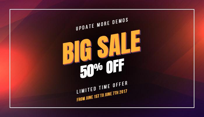 strollik - big sale 50% for update more demos