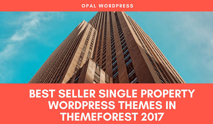 best seller single-property wordpress themes