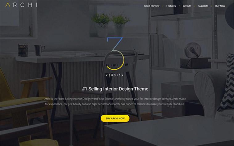 10 Best Wordpress Themes For Interior Design Furniture Home Decor