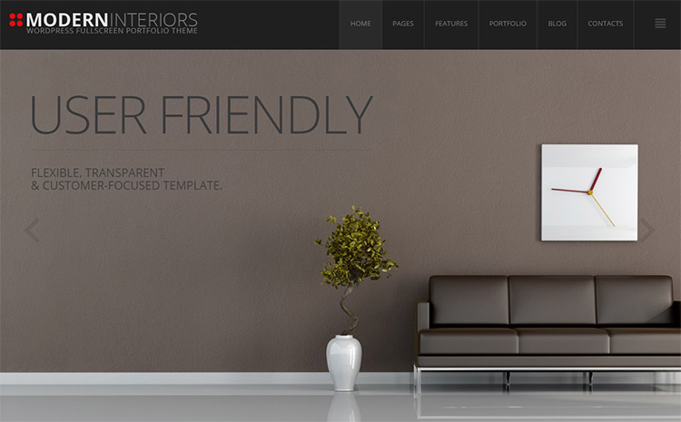 modern interiors is our new responsive wordpress theme that was created specifically to fill the gap in interior design and decoration services that are - Interior Design Pages