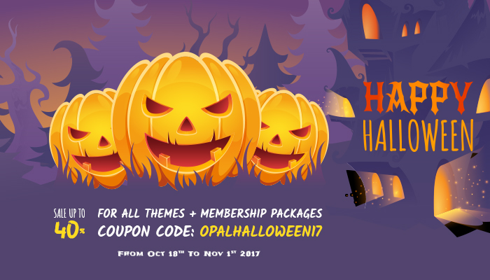 Halloween - WPOpal Sale off 40%
