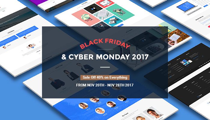 black friday and cyber monday sale off 40%