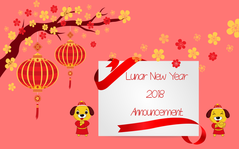 Lunnar New Year Announcement