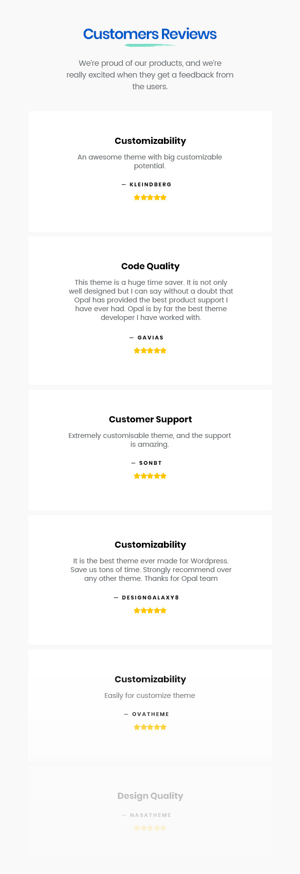 Best rated Woocommerce Themes Make Customers Happy