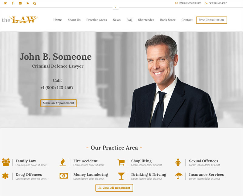 the-law wordpress theme