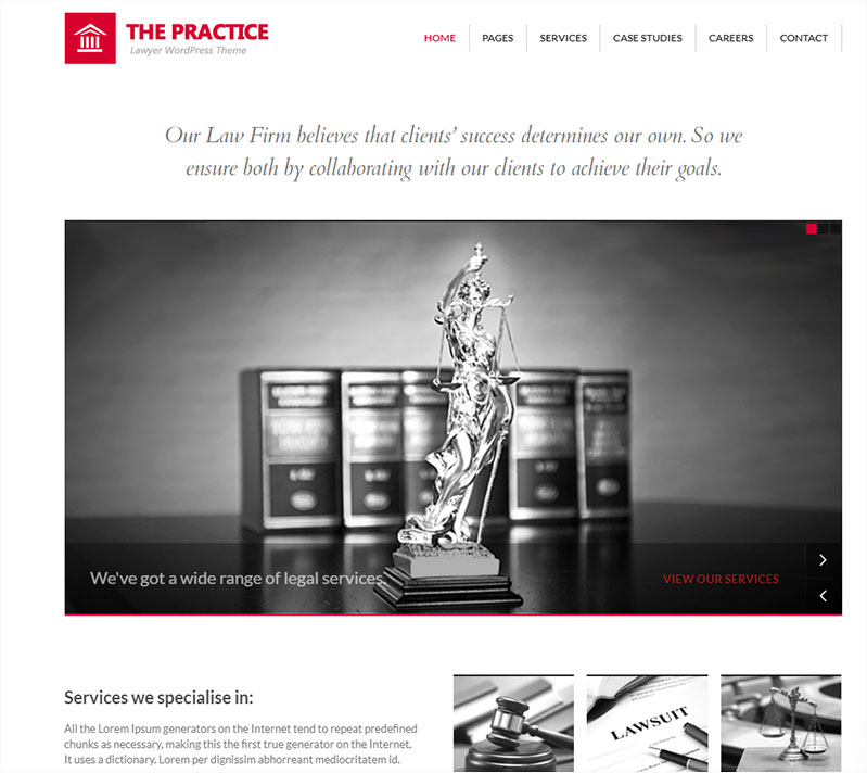 the-practice wordpress theme
