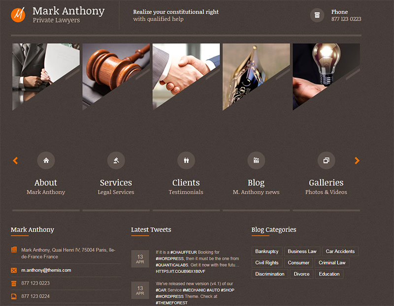 themis law wordpress theme