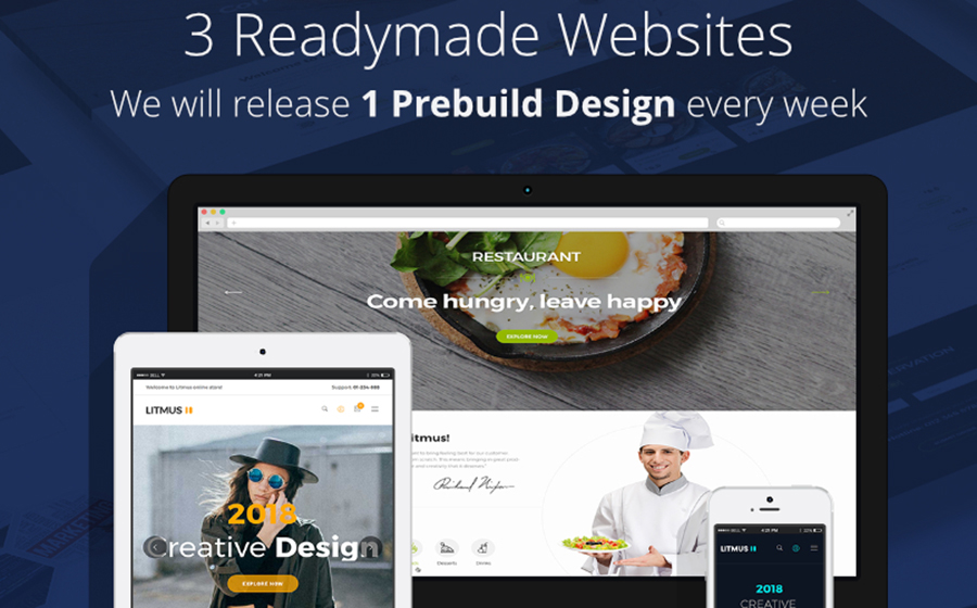 Litmus - Creative Multipurpose WordPress Theme