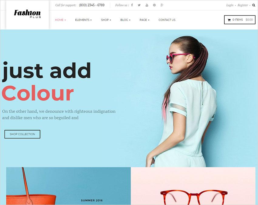 fashionplus wordpress theme