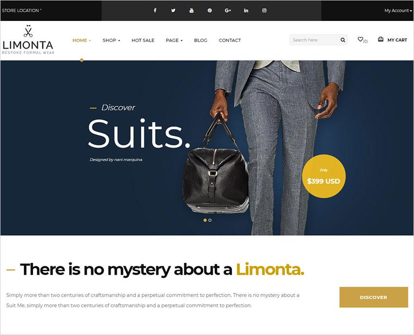 limonta wordpress theme