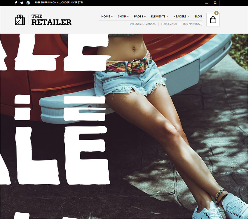 the-retailer wordpress theme