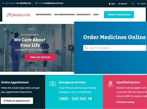 Mediac WordPress Theme
