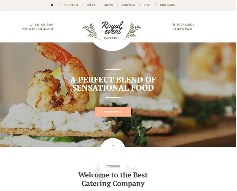 royal-event wordpress theme