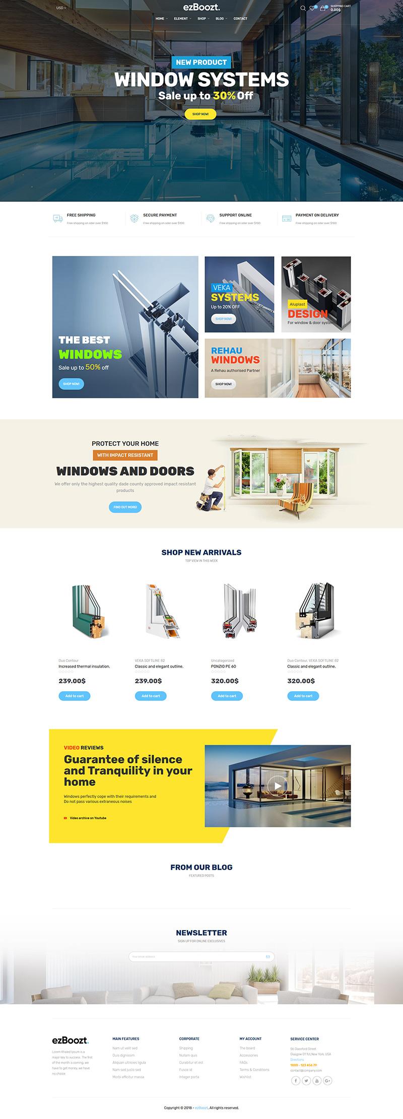 ezboozt-WooComerce WordPress Themes