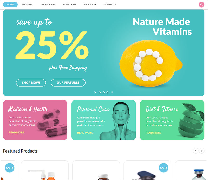 medicine-plus wordpress theme