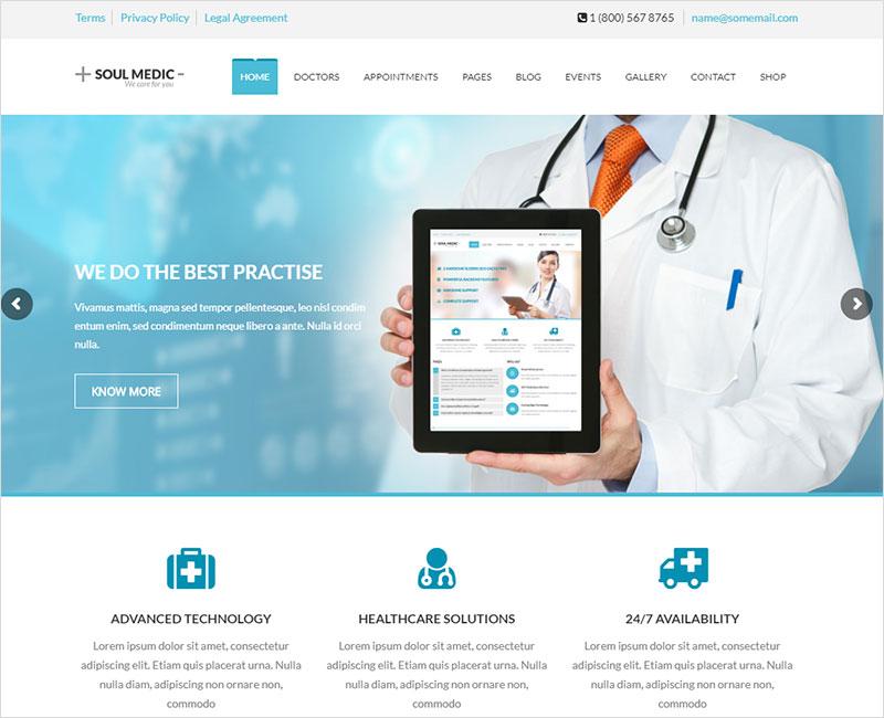 souldmedic pharmacy wordpress theme