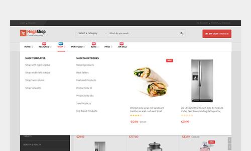 flexible menu system