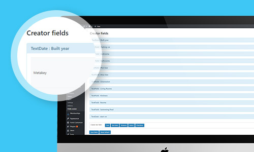 easy to manage field creator