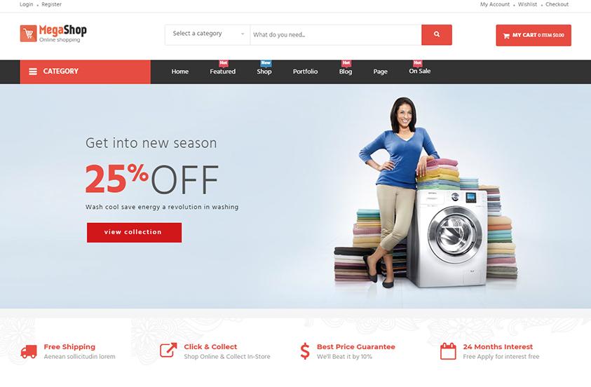 Megashop - Supermarket WooCommerce Wordpress Theme   WpOpal