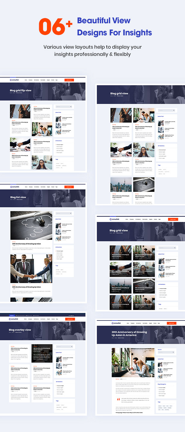 Consultek View Design-Beratung Business WordPress Theme