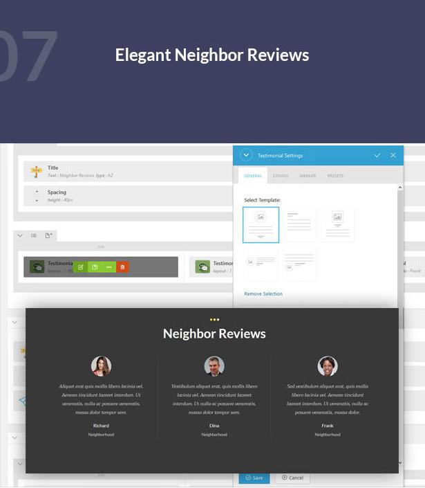 elegant neighbor reviews-Single Property Real Estate WordPress Theme