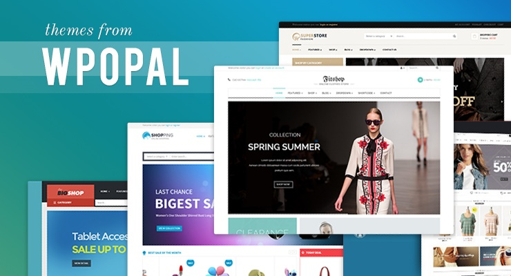 Review 5 online shopping wordpress themes from Opal