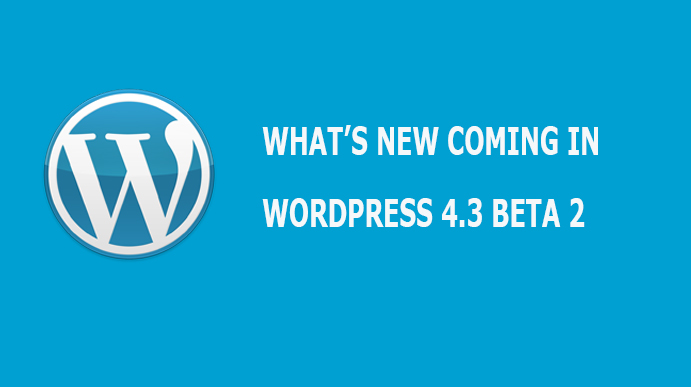wordpress 4.3 beta 2