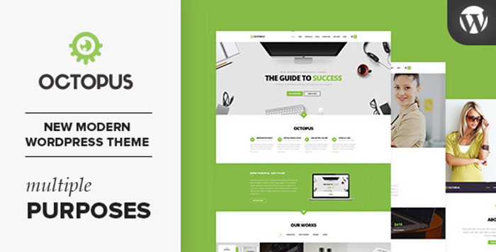 Review Octopus   Multipurpose Business WordPress Theme