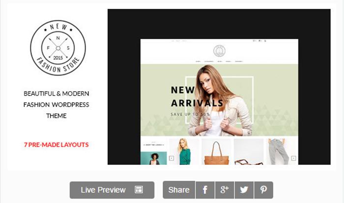 Newfashion   Modern WooCommerce WordPress Theme