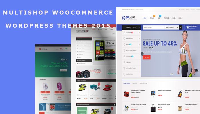 Top 10 Multishop WooCommerce WordPress Themes 2015