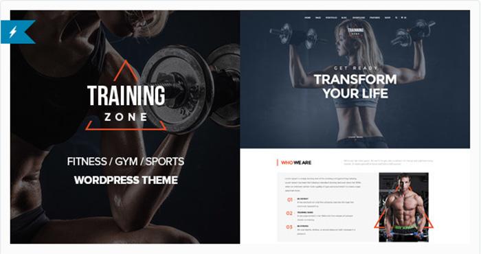 Welcome Training Zone – Gym & Fitness WordPress Theme